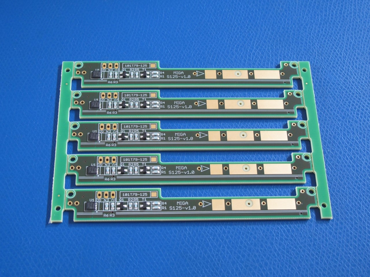 Pick and place actuator circuit boards