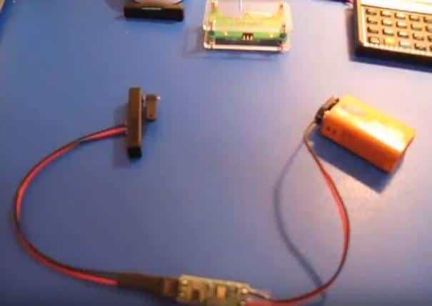 Tiny Rotary Nitinol Actuator Motion Demo